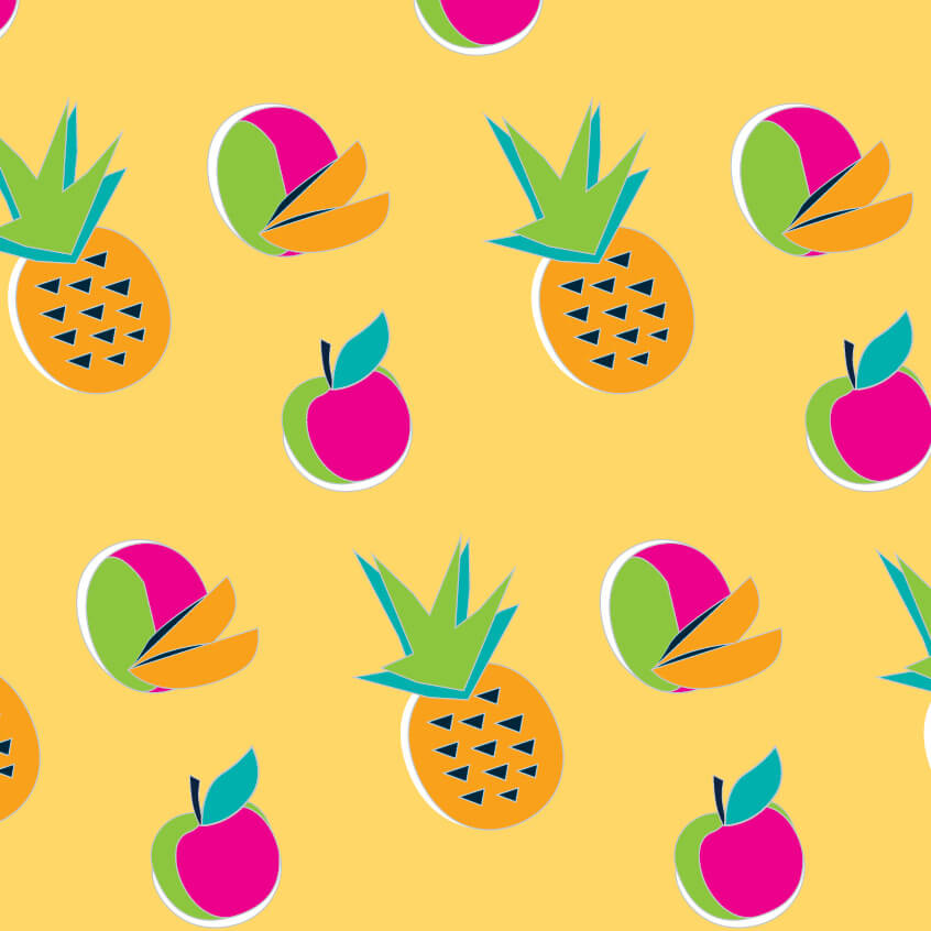BAHA Breeze Mango Juice Drink Pattern
