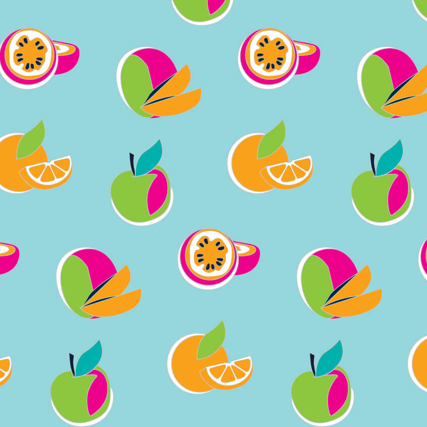 BAHA Breeze Tropical Juice Drink Pattern